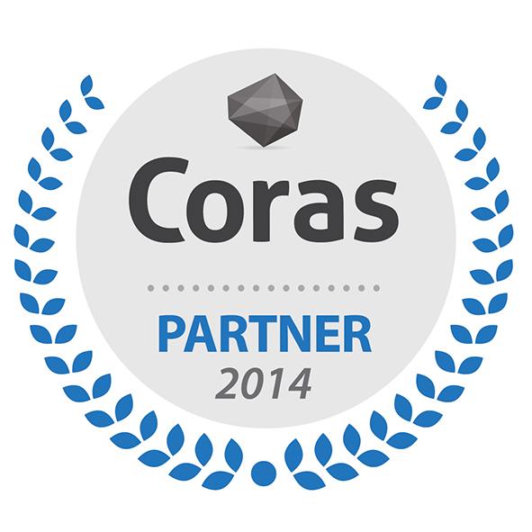 Coras Official Partner Stamp