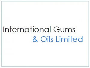 Logo for International Gums & Oils Limited